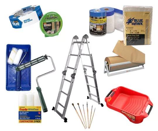 نقاشی ساختمان ابزار مورد نیاز