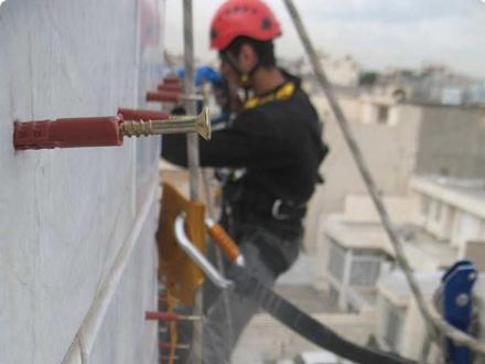 محکم کردن سنگ نما | مقاوم سازی سنگ نما | محکم کردن نمای ساختمان | محکم سازی سنگ نما | مقاوم کردن سنگ نما
