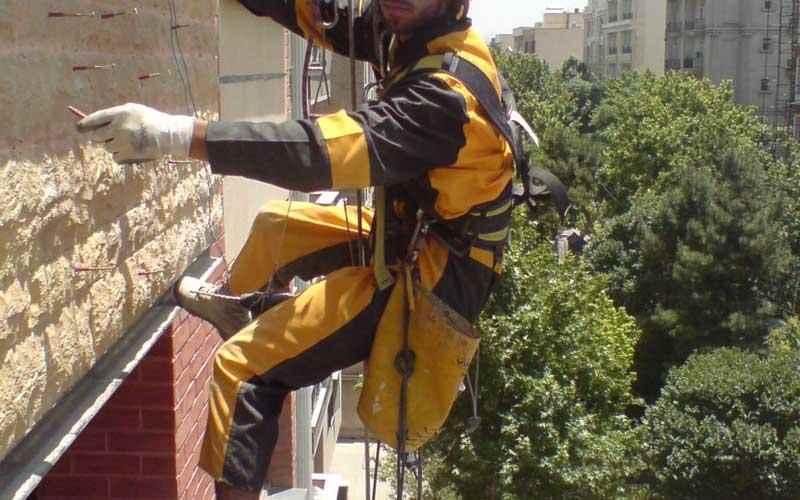 پیچ و رولپلاک نما، پیچ و رولپلاک نمای ساختمان، پیچ و رولپلاک سنگ نما در تهران، پیچ، رولپلاک